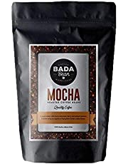Bada Bean Coffee, Mocha, Roasted Beans. Fresh Roasted Daily. Award Winning Speciality Coffee Beans. 250g (Ground for Plunger)