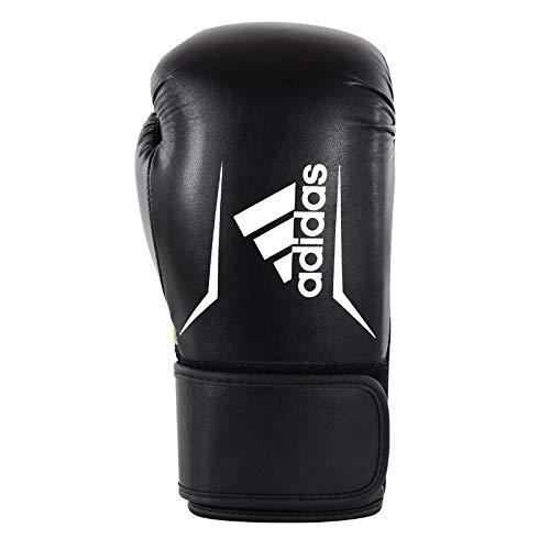 8/oz adidas Adultos Speed 100/ /Negro//Blanco; adsbg101/Guantes de Boxeo