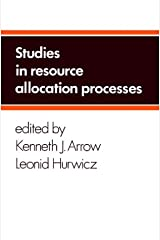 Studies in Resource Allocation Processes Hardcover