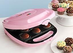 Babycakes CC-2828PK Cupcake Maker, Pink, 8 Cupcakes