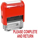 Teacher Stamps - Please Complete and Return (55091)