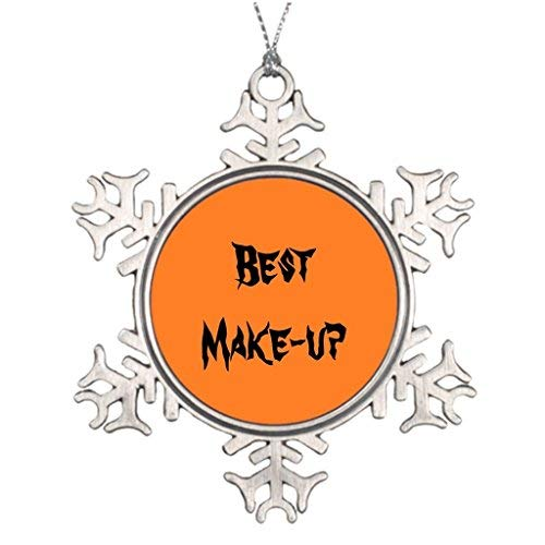 Christmas Snowflake Ornament Ideas for Decorating Christmas Trees Costumes Blank One Size ()