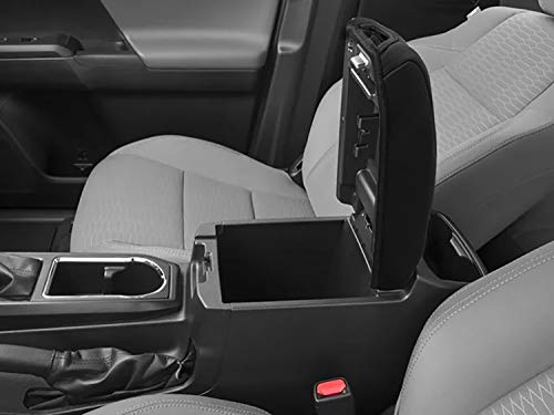JDMCAR Center Armrest Console Lid Cover Compatible with Toyota Tacoma 2016 2017 2018 2019 2020 Accessories,Waterproof Neoprene Center Console Protector