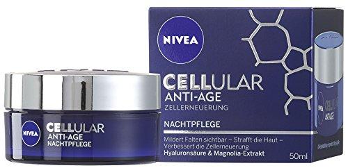 Nivea Cellular Anti-Age Nachtpflege 50ml, 1er Pack (1 x 50 ml)