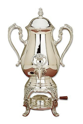 Reed & Barton Sheffield Collection 25-Cup Silverplated Burgundy Coffee Urn