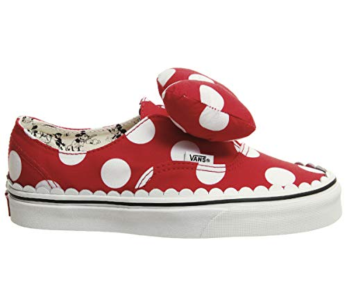Vans X Disney Authentic Gore Shoes (5.5 Women / 4 Men M US, Minnie's Bow/True White) ()