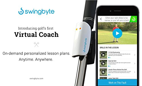 Swingbyte 2 Golf Training Device - Golf's Most Trusted Mobile Swing Analyzer - Includes Mobile App for iPhone and Android by Swingbyte (Image #4)
