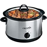 Crock-pot Cooker - 1.25 gal - Silver
