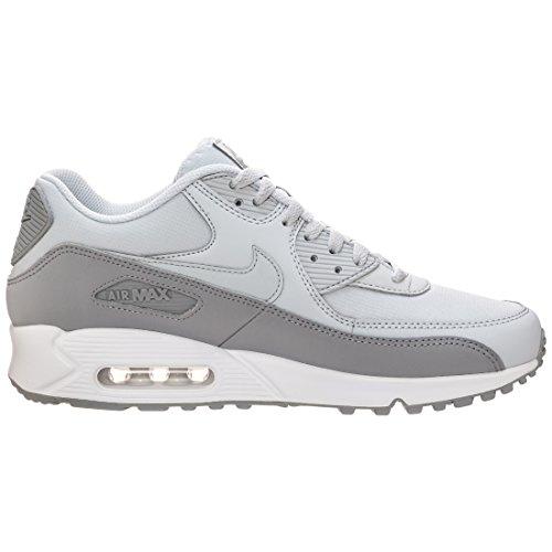 Nike Herren Air Max 90 Essential Laufschuh Wolf Grey / Pure Platinum-weiß