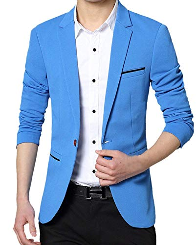 Comode Risvolto Fashion Lunga Leisure Uomo Fit Abiti Hx Blazer Business Men Suit Casual Taglie Slim 1 Da Elegante Schwarz Button Manica PqWzpw