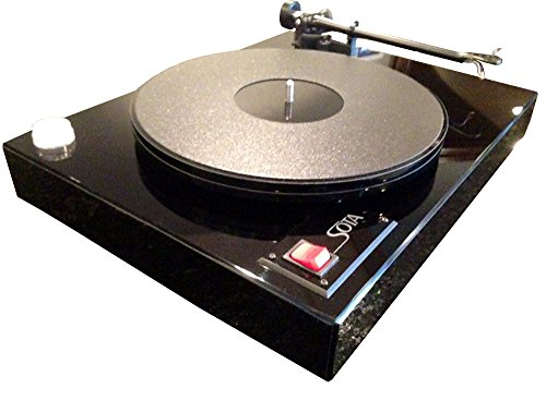 SOTA COMET Turntable with REGA S-303 Tonearm with Dustcover-High Gloss Black-Made in USA!