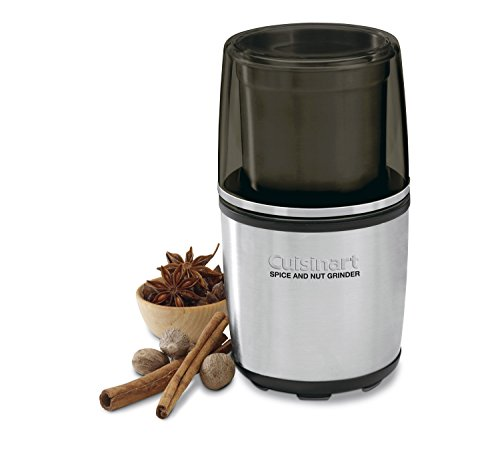 Electric spice-and-nut grinder.