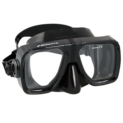BiFocal Gauge Reading Scuba Dive Snorkeling Mask Prescription Lenses, AB, Bifocal+3.0