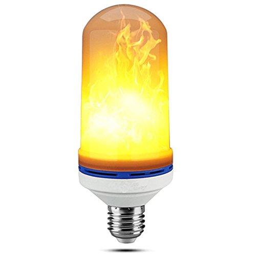 E26//E27 Flickering Flame Light Bulbs 105pcs 2835 LED Beads Simulated Decorative Light Atmosphere Lighting Vintage Flaming Light Bulb for Bar//Festival Decor S642856900003##wh=7 LightInTheBox LED Flame Effect Light Bulb