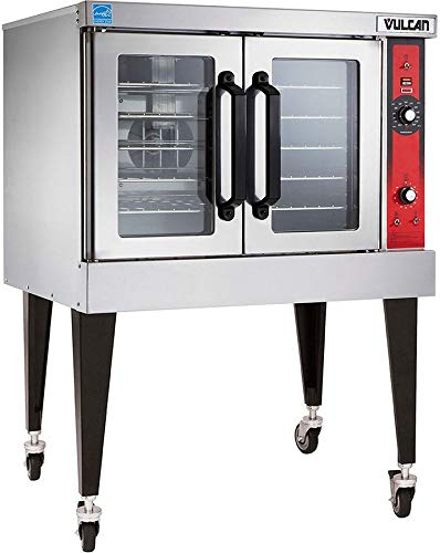 - Vulcan VC5GD LP Gas Convection Oven, Single Deck with Casters