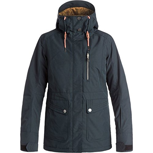 Roxy SNOW Junior's Andie Snow Jacket, True Black, S by Roxy