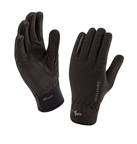 (SEALSKINZ Women's Women's Waterproof All Weather Lightweight Glove, Black, One Size)