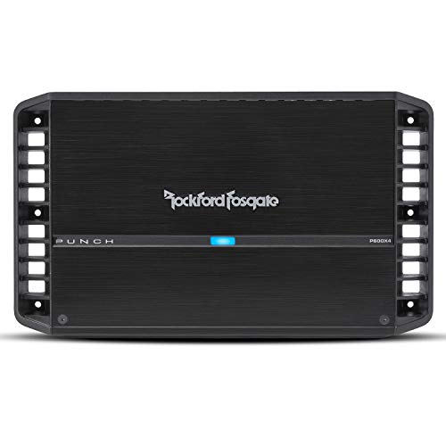 Rockford Fosgate P600X4 Punch 600 Watt 4 Channel Amplifier