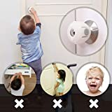 EUDEMON 4 Pack Baby Safety Door Knob Covers Door