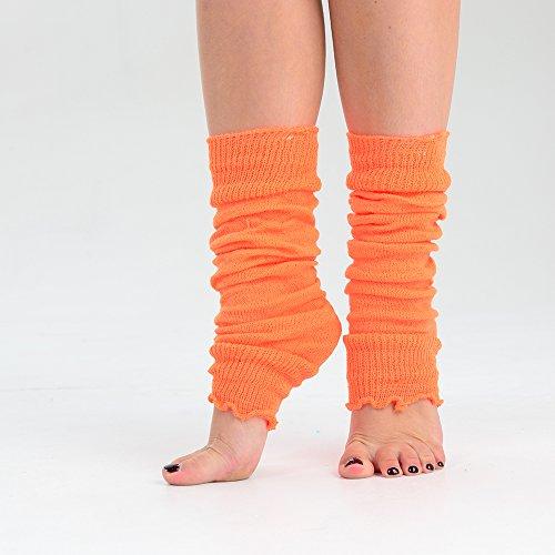 Vives Mode Neon Femmes Couleurs Adam 1 Ballet Ou 3 Filles amp; Eesa Jambières 2 De Orange Paires YZqxwzAIq