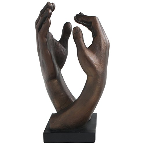 - Cathedral Hands by Rodin, Statue, 12.5 Inches