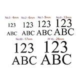 Alphabet & Figure Stamp Set- Plug In System