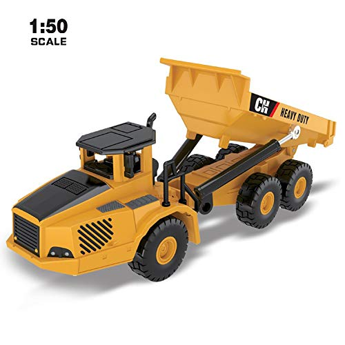 jkbfyt Dump Truck,Alloy Models Engineering Toy Truck 1:50 Scale High Diecast Model Car Collection for Kids from jkbfyt