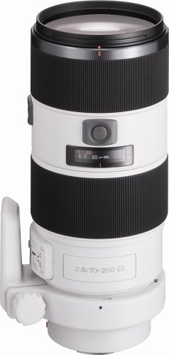 Sony SAL70200G 70-200mm f/2.8 SSM Lens  for Sony Alpha Digital SLR Camera (OLD MODEL)