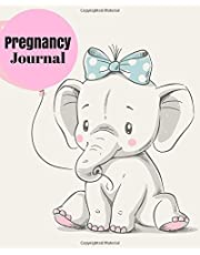 """Pregnancy Journal: Baby Conception To Birth Log, Essential Organizer Week by Week Diary Planner Journal Notebook To Monitor & Track Pregnancy Progress, Ultimate Daily Journaling Record Logbook For Mom Dad To Be, A Unique Keepsake Memories Scrapbook Large 8""""x10"""" Paperback"""