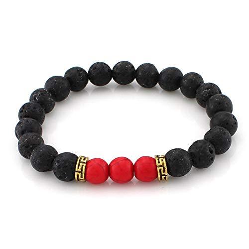 Bead bracelet men's string bracelet for women's handmade jewelry cuffs wristband adjustable bileklik,5