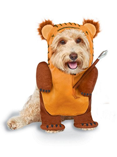 Rubie's Star Wars Running Ewok Pet Costume, Medium -