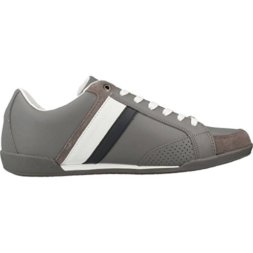 Steel Gris Sneakers H FM0FM01532 Grey Tommy q4SwnETHw