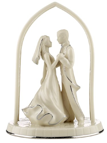 Lenox Wedding Promises Forever Yours Bride & Groom Wedding Cake Topper