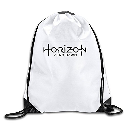 Price comparison product image Waterproof Breathability Customized Horizon Zero Dawn Role-playing Video Game Drawstring Hiking Backpack Drawstring Backpack Cinch Sack