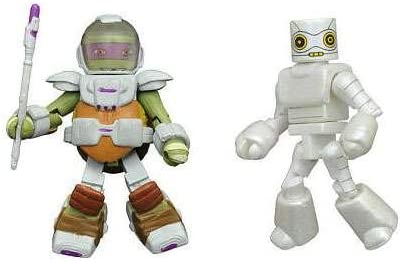 TMNT Minimates Series 5 2-Inch Mini-Figure Space Suit Michelangelo