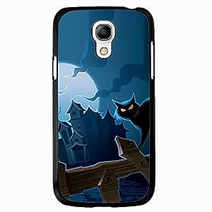 DIY Halloween Theme Phone Case Black Hard Plastic Case Cover For Samsung Galaxy S4 MINI