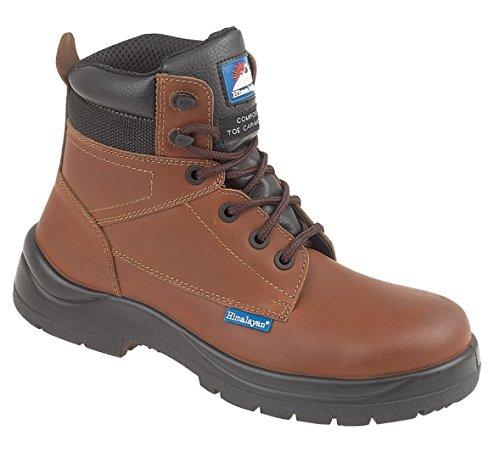 Himalayan 5119-13,0 doppia suola imbottita S3, stivali di sicurezza, misura 13, colore: marrone