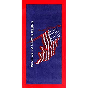 Classic american usa flag velour brazilian for American classic usa