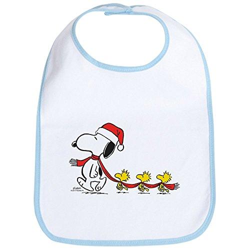 CafePress - Snoopy And Bird Friends - Cute Cloth Baby Bib, Toddler Bib