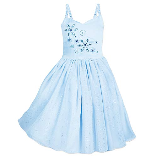 Disney Frozen Leotard Dress for Girls Size 3 Blue -