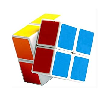 2x2x2 Magic Cube Puzzle Neon Colors High Speed Cube