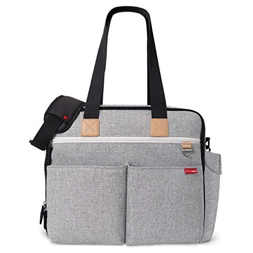Bolsa Maternidade (Diaper Bag) Duo Weekender - Grey Melange Skip Hop, Skip Hop, Cinza
