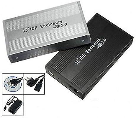 PACIFICO Carcasa Caja Disco Duro Externo 3,5 SATA USB Externa ...
