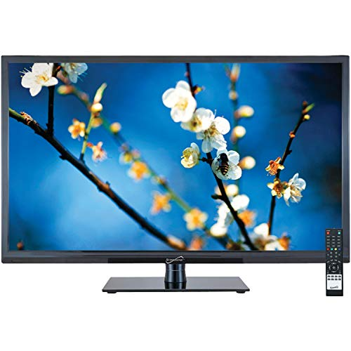 SuperSonic 1080p LED Widescreen HDTV with HDMI Input and AC/DC Compatible for RVs, 22-Inch
