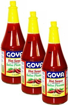 Goya All Natural Hot Sauce 12 oz Pack 3