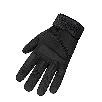 50c8fe61e TYoung Full Finger Military Tactical Glove Special Ops Light Assault Glove  for Fitness Exercise Outdoor Sports CS Hunting Riding Cycling Black