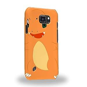 Case88 Premium Designs Pokemon Charmander Carcasa/Funda dura para el Samsung Galaxy S6 Active
