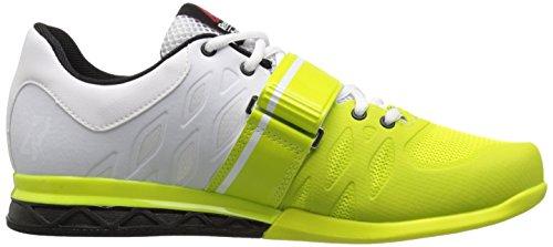 Reebok Mens R Crossfit Lifter 2.0 Training Shoe Semi Solar Yellow/White/Black