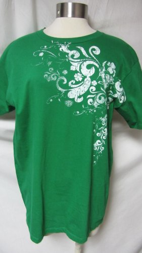 Pittsburgh Penguins Mens Large Short Sleeve St Pats T-shirt AMZ-O 6476 (St Pats T Shirts)