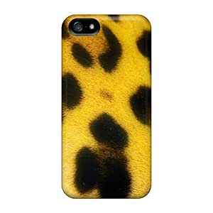 Ideal Jeffrehing Case Cover For Iphone 5/5s(leopard Pattern Closeup), Protective Stylish Case
